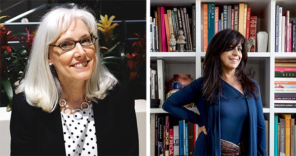 Carol Saller and Maria Pinto talk style as part of the Chicago Humanities Festival on Sat 4/30.