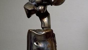<i>Untitled</i> (1963) by Richard Hunt