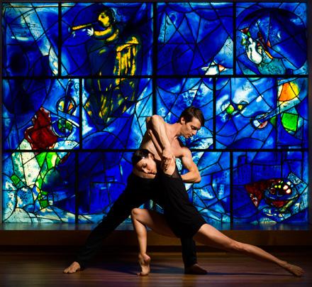 HSDC's dancers Anna Lopez and Garrett Anderson