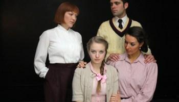 Whitney Morse, Nora Lisa Ulrey, Nelson A. Rodriguez, and Britni Tozzi in <i>The Children's Hour</I>
