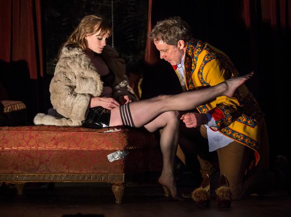 Amanda Drinkall and Rufus Collins