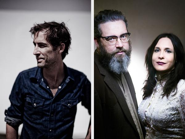 Andrew Bird; Brett and Rennie Sparks of the HandsomeFamily
