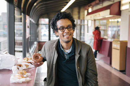 Philosophy professor Anton Ford has applied Aristotelian logic to the act of eating doughnuts.