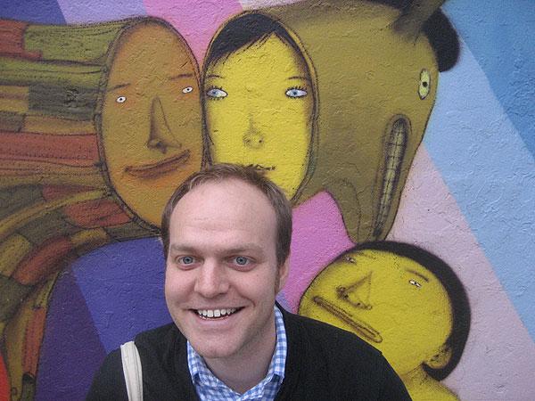 AREA founder Daniel Tucker
