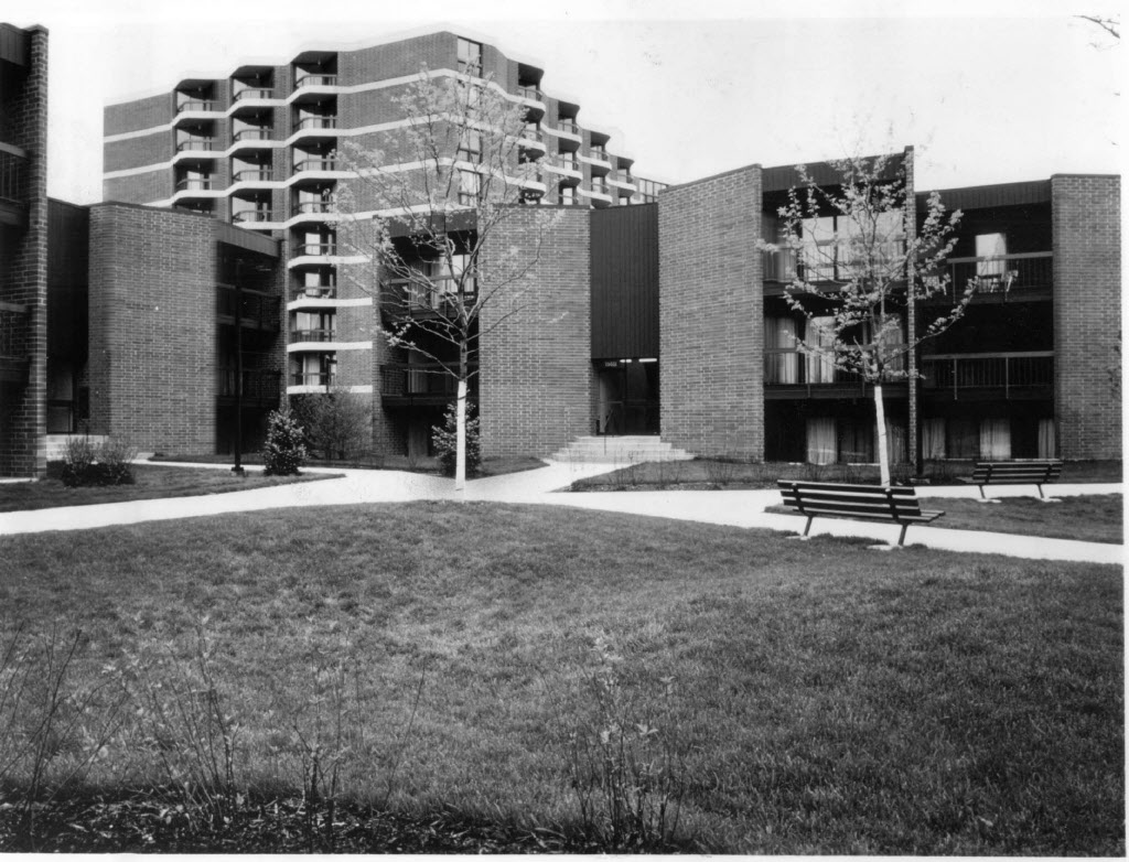 When it was completed in 1979, Atrium Village was on the cutting edge of government-subsidized housing.