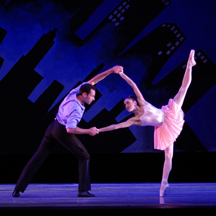Ballet Chicago Studio Company performs George Balanchine's challenging and touching work.