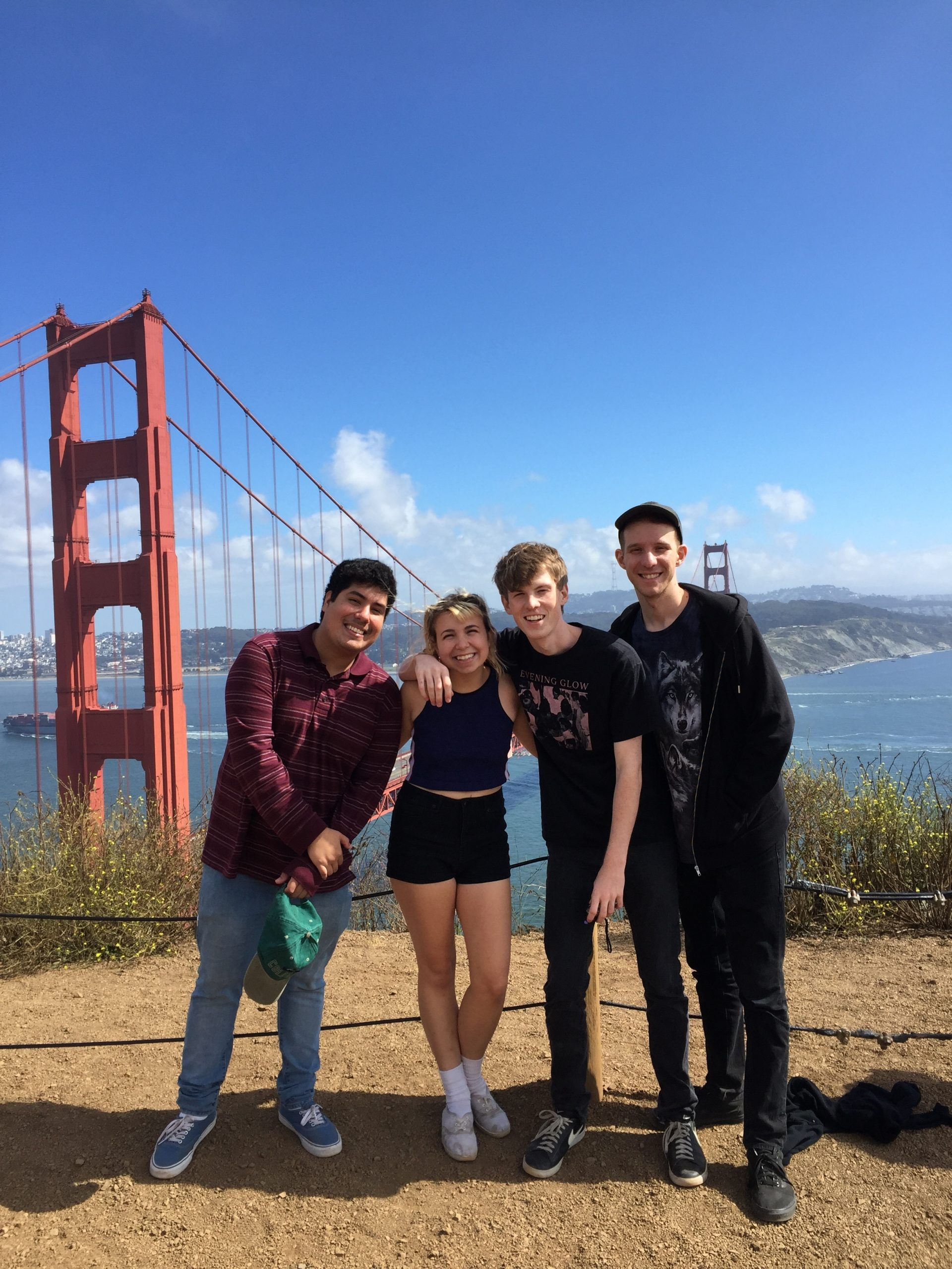 Beach Bunny on their first tour—they went to the west coast this summer.