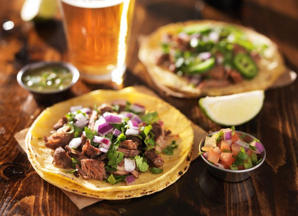 All-you-can-eat tacos on Mon 4/25 at the Lagunitas Tap Room