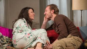 Kate Arrington and Cliff Chamberlain