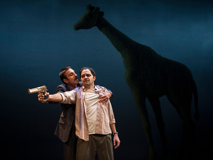 Kareem Bandealy and Anish Jethmalani in Bengal Tiger at the Baghdad Zoo