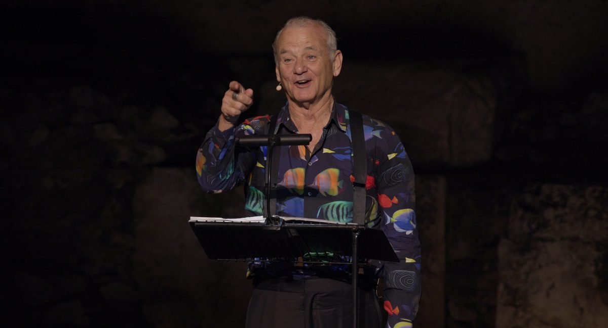 Bill Murray in New Worlds: The Cradle of Civilization, which premiered at Cannes Film Festival