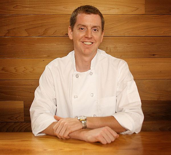 Brian Huston, the Publican chef de cuisine