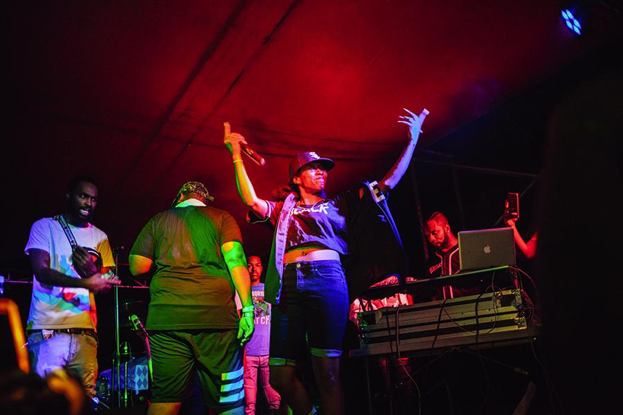 Chimeka performs at last year's Camp Smokey Bear.