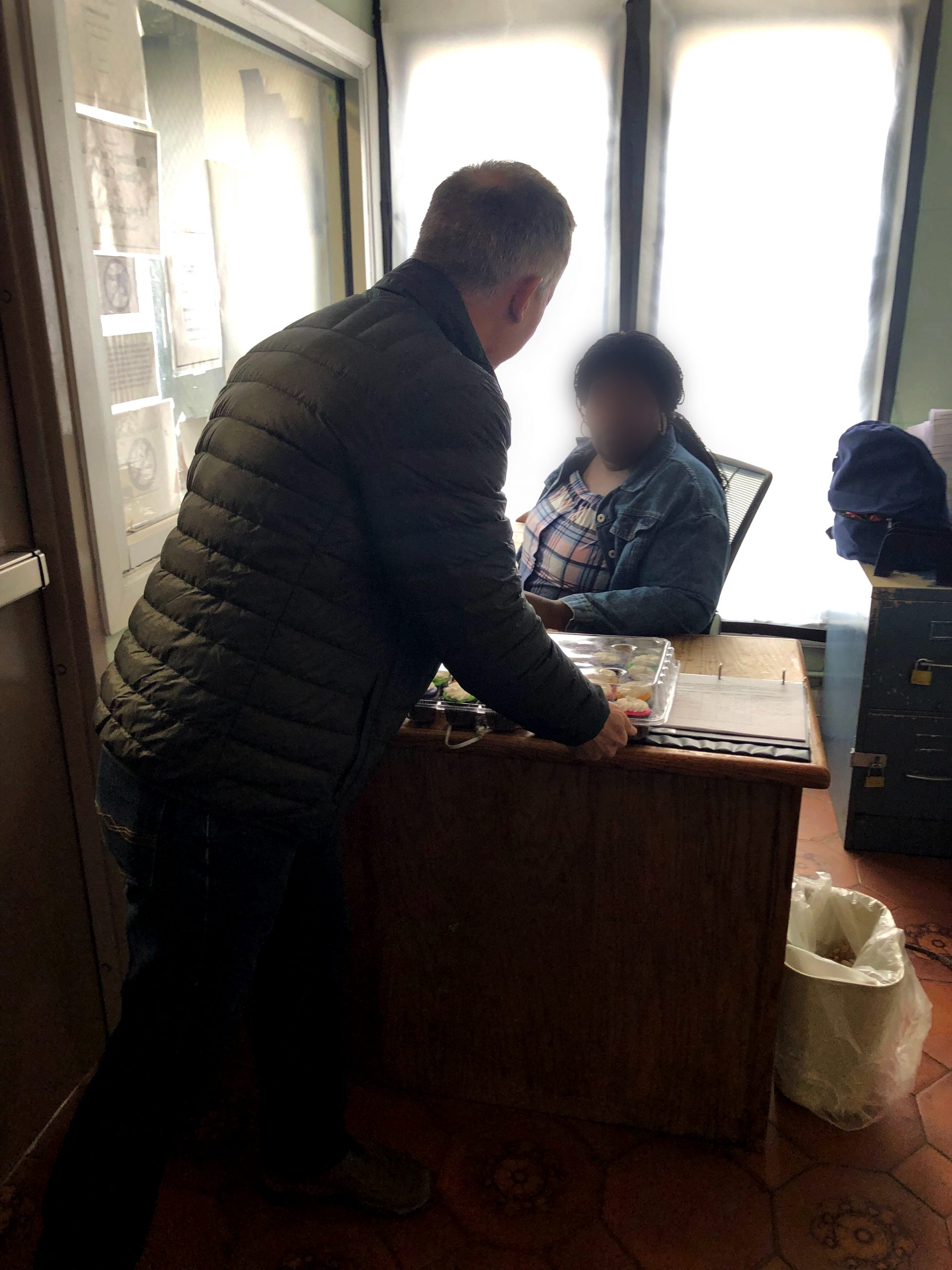 Ahead of the runoff election, 46th Ward alderman James Cappelman delivered cupcakes to all four nursing homes that have polling places.