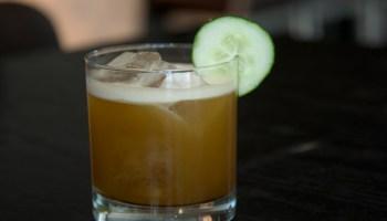 Josh Relkin's caper cocktail