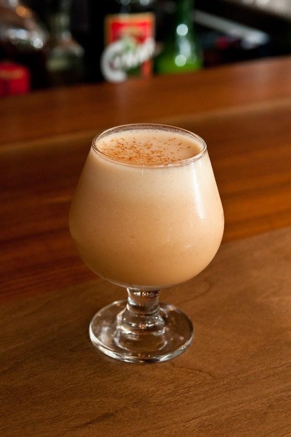 Mark Brinker's sriracha cocktail