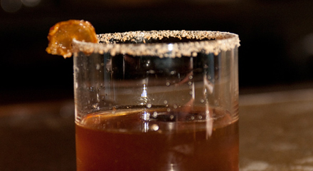 Gina O'Brien's Simply Soy cocktail