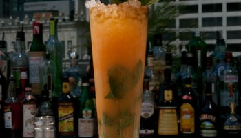 Ingi Sigurdsson's sweet potato cocktail