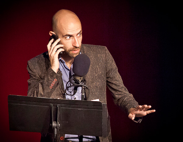 Welcome to Night Vale's Cecil Baldwin as Cecil Palmer