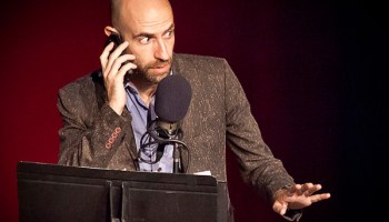 <i>Welcome to Night Vale's</i> Cecil Baldwin as Cecil Palmer