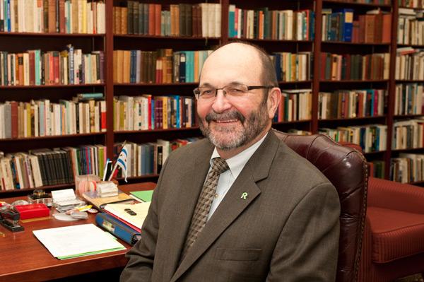 Roosevelt University president Charles Middleton