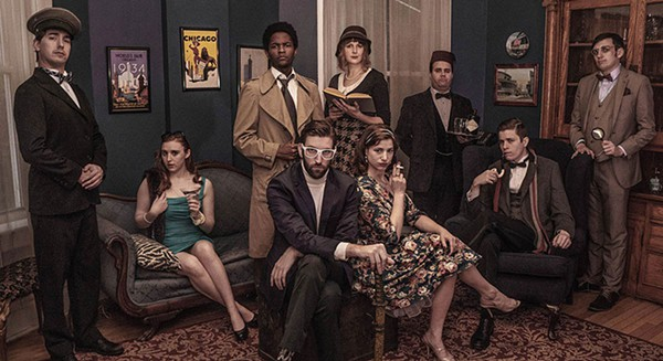 <i>Clued In: An Improvised Murder Mystery</i>, at Second City's Beat Lounge