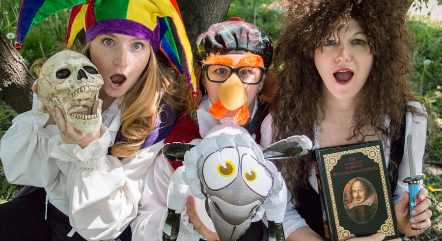 <i>The Complete Works of Shakespeare (Abridged)</i>, at the Heartland Studio Theatre