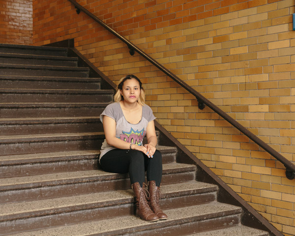 """Wells junior Conchita Castro: """"I push myself, because I want to have a future."""""""