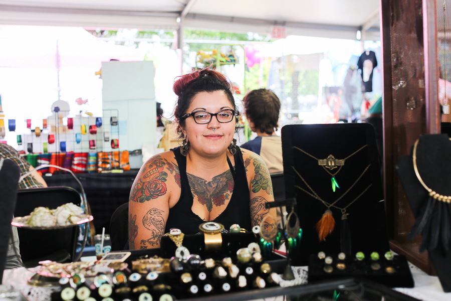 April Montiel, Parajo Negro owner and Best Indie Artist nominee for our 2016 Best of Chicago reader's choice poll