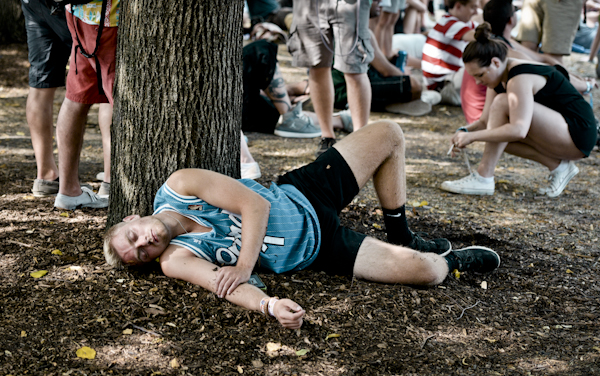 The apathy was palpable on day two of Lollapalooza.