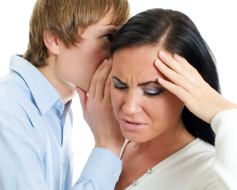 A wife is sick of hearing about her husband's fantasies.