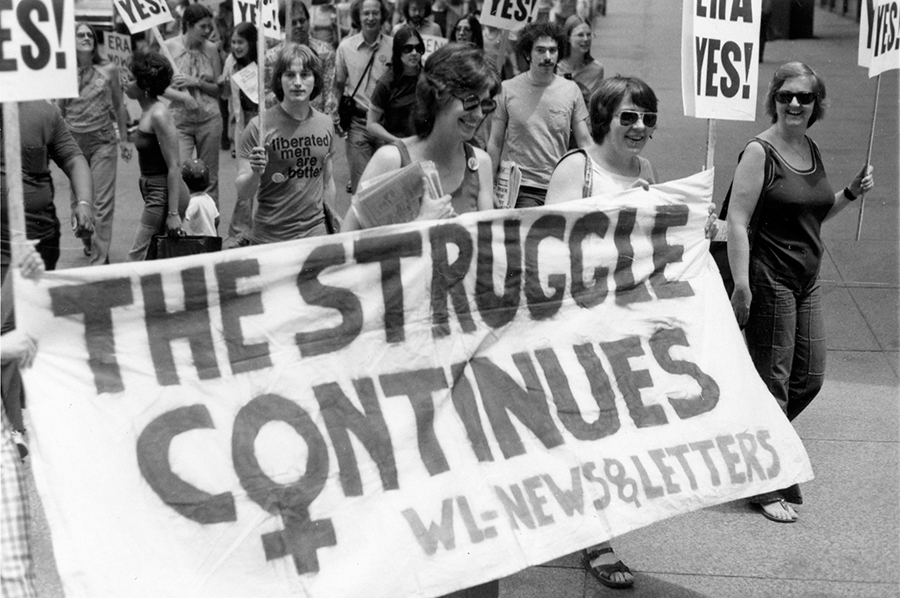 """An image from the upcoming project """"Documenting Women's Activism and Leadership in the Chicago Area, 1945-2000"""""""