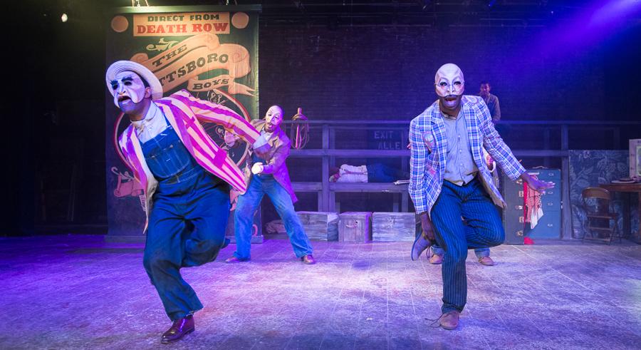 Raven Theatre's <i>Direct From Death Row: The Scottsboro Boys</i>