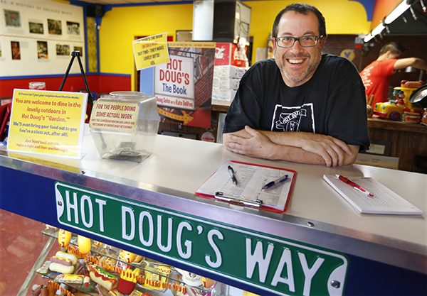 Hot Doug's returns