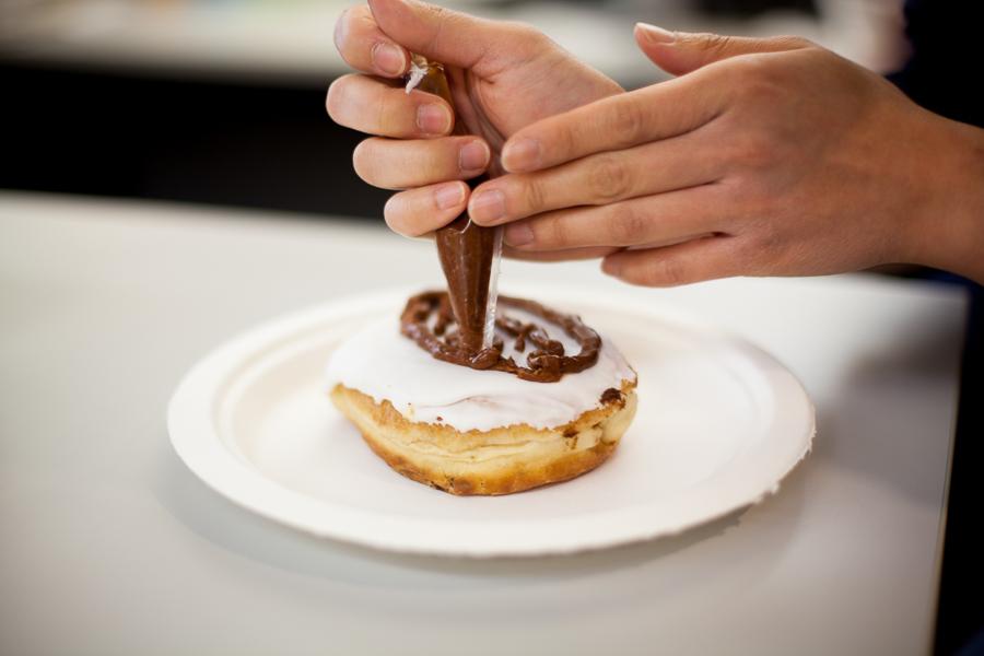 The Doodle doughnut