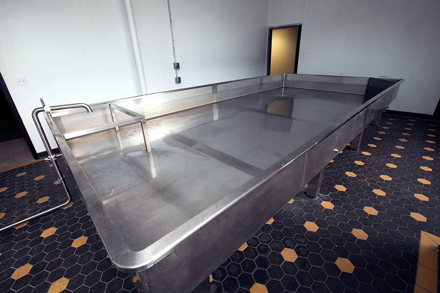 Dovetail's coolship