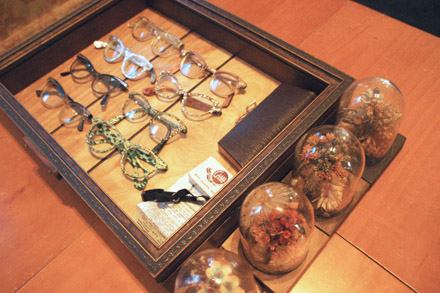 A clever coffee-table centerpiece: vintage eyeglasses (all under $5)