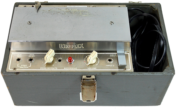 This isn't Jim Dorling's Echoplex EP-2, but it is an Echoplex EP-2.