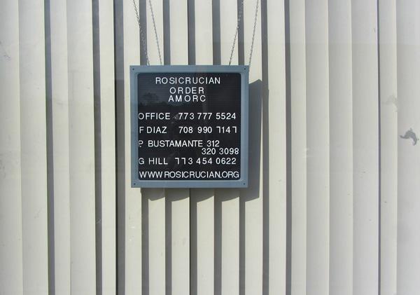 <em>Rosie's on Elston.</em> Rosicrucian Office on Elston Avenue, Summer. By Edward Anderson, 34, musician, Logan Square