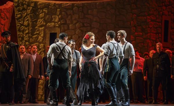 Ekaterina Gubanova in Lyric Opera's <i>Carmen</i>