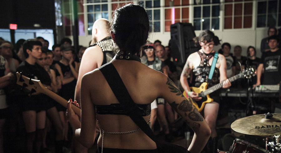 Fed Up Fest showcases queer and trans artists from across the country.