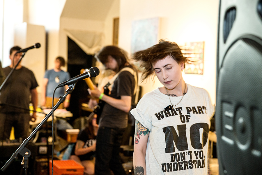 Pursley of Chicago band No Men