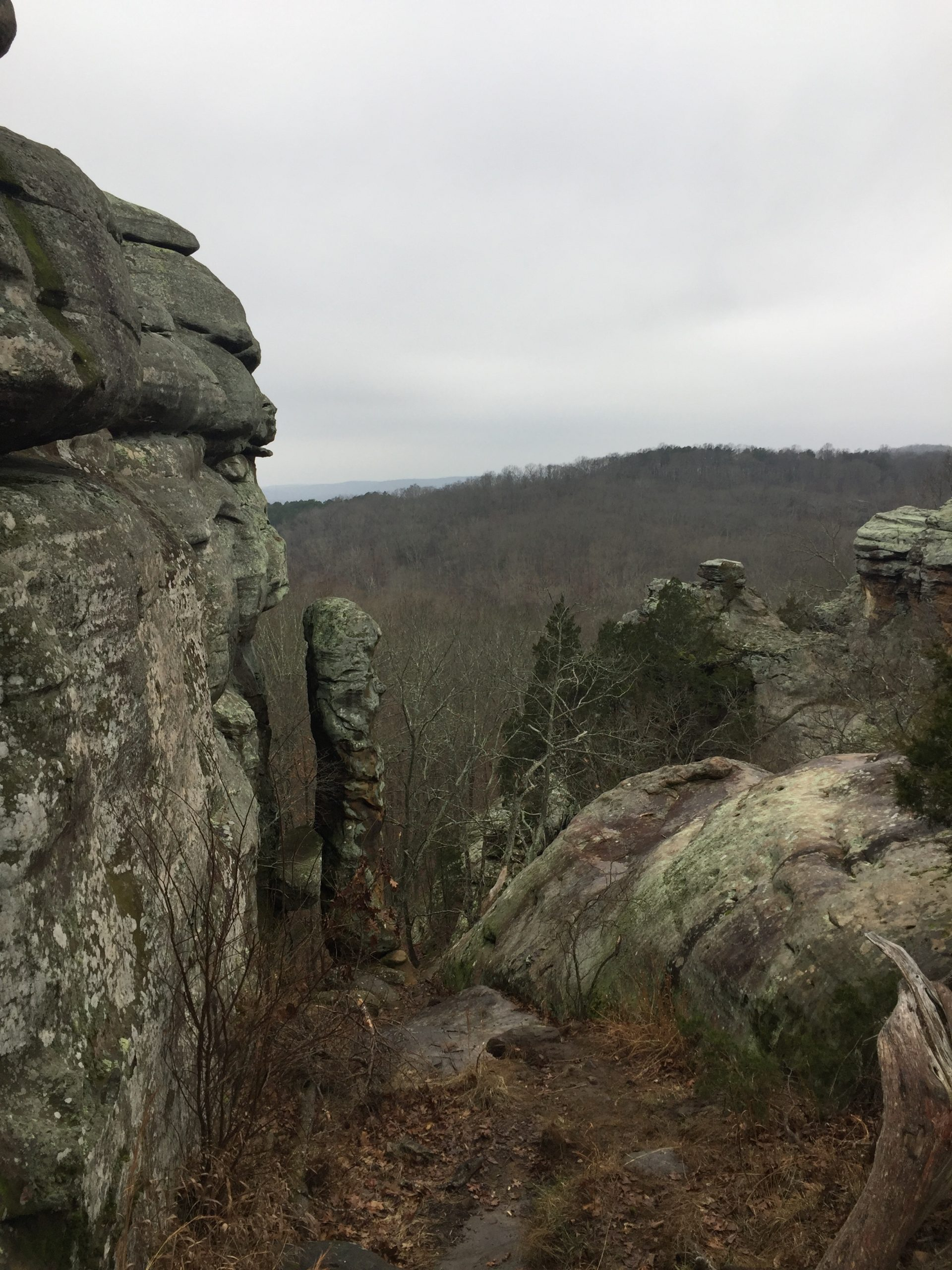 The Devil's Smokestack, in Shawnee National Forest's Garden of the Gods