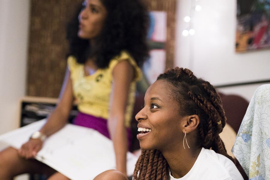 Nabila Hossain and Sonia Denis star in the Chicago-based webseries <i>Brown Girls</i>.