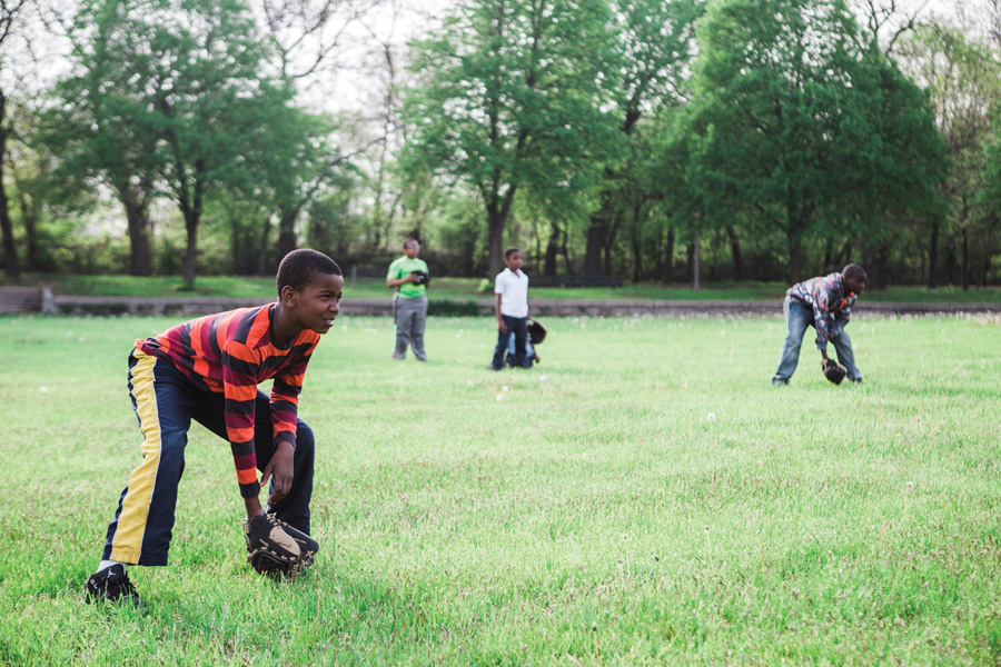 For our Summer Guide issue, Steve Bogira wrote about Englewood's Hamilton Park baseball league, and Jeffrey Marini took beautiful photos of the kids during practice.