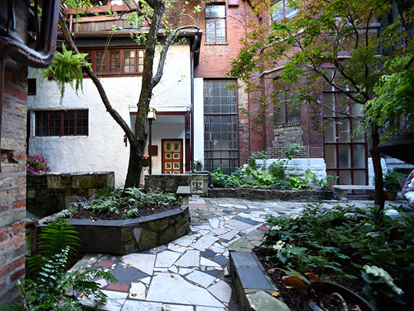 Inside the Carl Street Studios, at 155 W. Burton Place