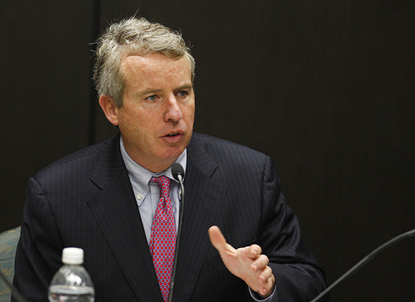 Then-board chair Christopher Kennedy was skeptical about a new medical school, especially one that would encroach on UIC, the central campus of the U. of I. College of Medicine.