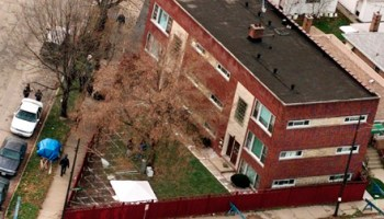 The apartment complex where a retired Chicago police detective believes more Gacy victims were buried