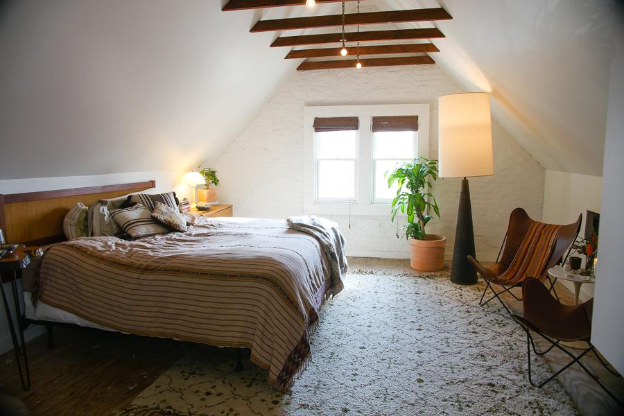 Tibbs's bedroom