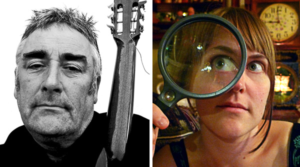 Fred Frith and Lori Felker